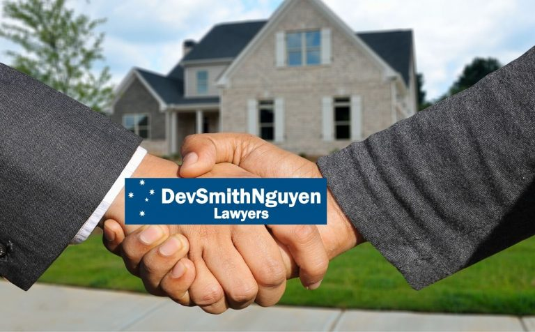 Conveyancing, Dev Smith Nguyen Lawyers