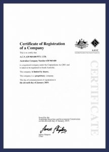 DSN - Company Registration
