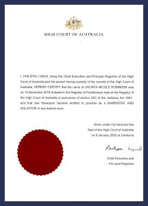 DSN - High Court of Australia