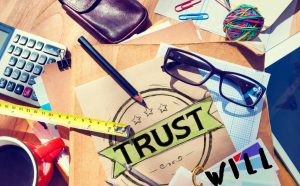 Trust, Will, Differences between trust and will