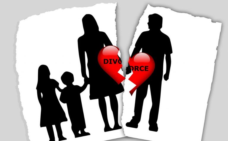 What happen with children once separation?